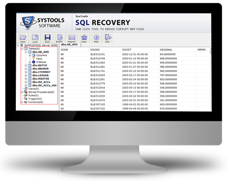 SQL Recovery Tool to Repair Corrupt MDF Database » SQL